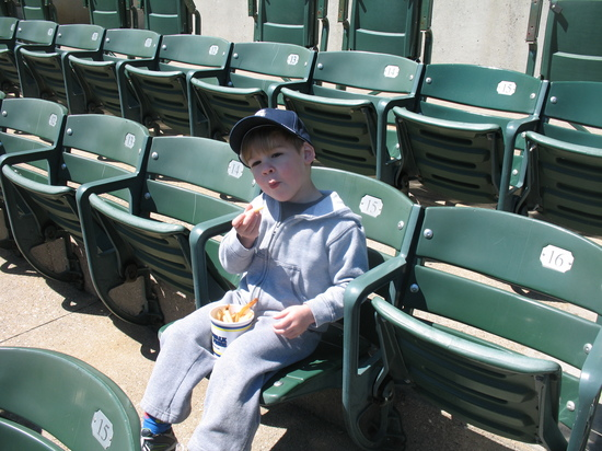 1st ballpark snack.jpg