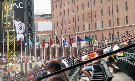 11 - flags in Eli Jacobs Plaza.JPG