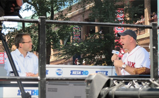 11 - nesn tom caron and mike omalley.JPG