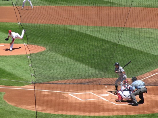 18 - lester-to-ichi with floating ball and pedroia.JPG