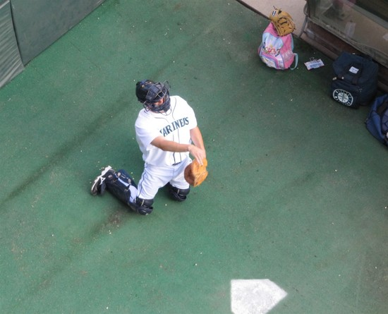 34a - Jason Phillips in Safeco Bullpen.jpg