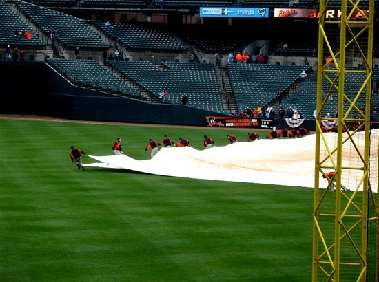 2 - removing the tarp from Cook and Sons off-season.jpg