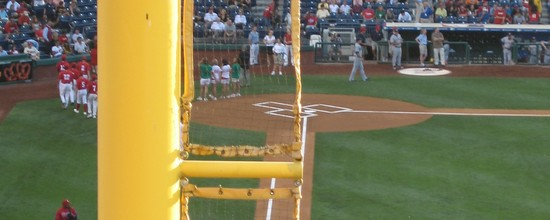 6 - foul pole and home plate.jpg