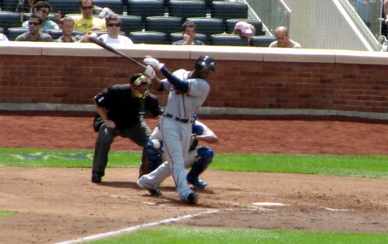 20 - jason heyward fouls back pitch in fourth.jpg