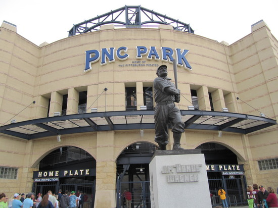 1 - PNC Parks Front Door.JPG