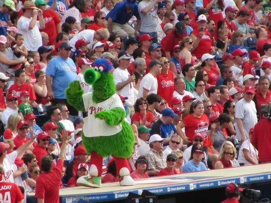 20 - phanatic pumps up crowd.JPG