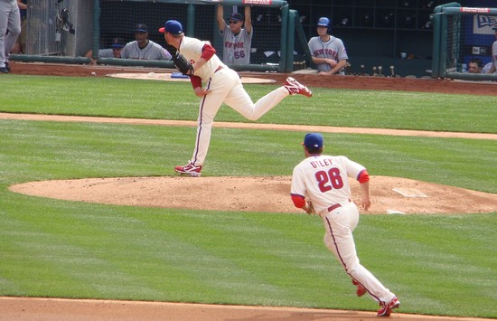 21b - halladay delivers utley charges.jpg