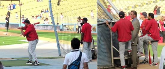 12 - angels at batting cage.JPG