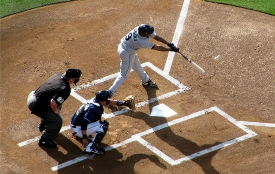 15 - Figgins singles in 1st 6-12-10.JPG