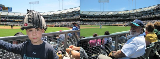 21 - Tim and Grandpa in section 125 of coliseum.jpg