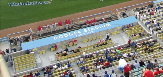 25 - dodger stadum dugout seating.jpg