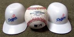 43 - LA helmets and baseball.JPG