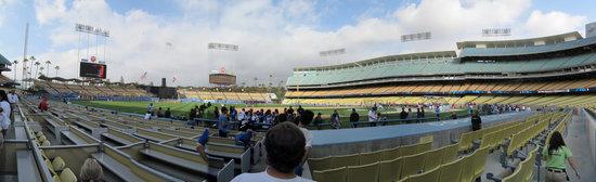 c - dodger behind 3B dugout panorama.jpg