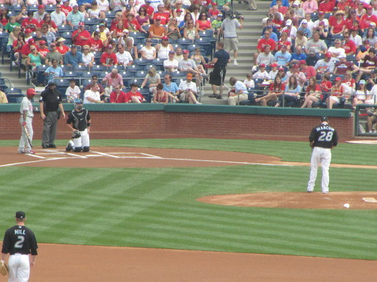 20 - J-Roll Steps In to Lead off game in top of 1st 6-26-10.JPG