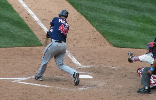 31 - Pavano bats in the 9th 6-20-10.JPG