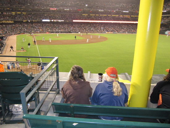 32 - foul pole seats at ATT Park.JPG