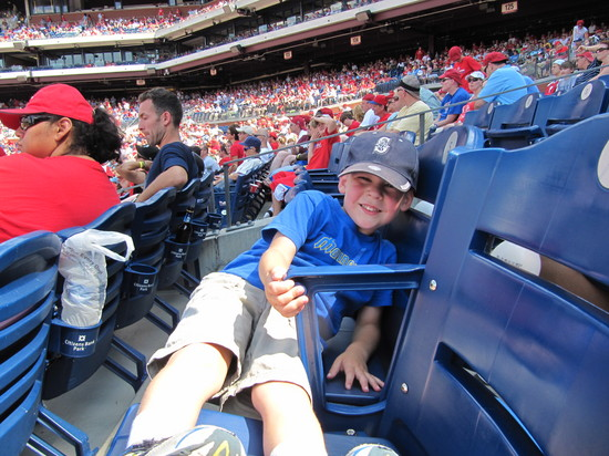 33 - Tim lounges in the seats.JPG