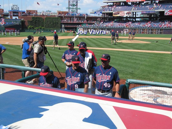 37 - Joe Vavra Twins Batting Coach.JPG