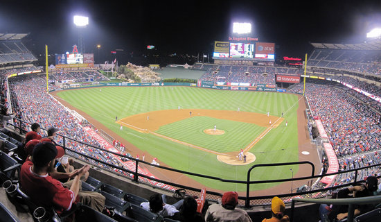 37a - angel stadium home-3B upper night panorama.jpg