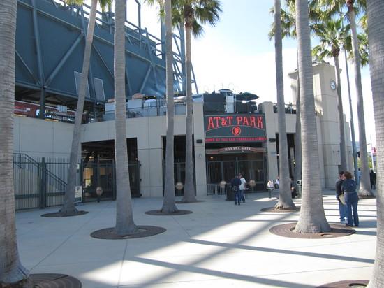 6 - ATT Park CF entrance.JPG