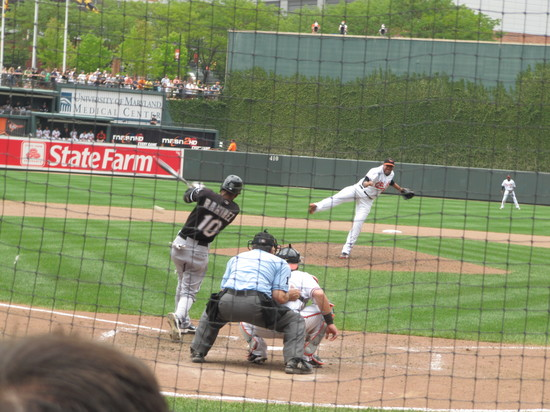 37 - Alexei Ramirez grounds out.JPG