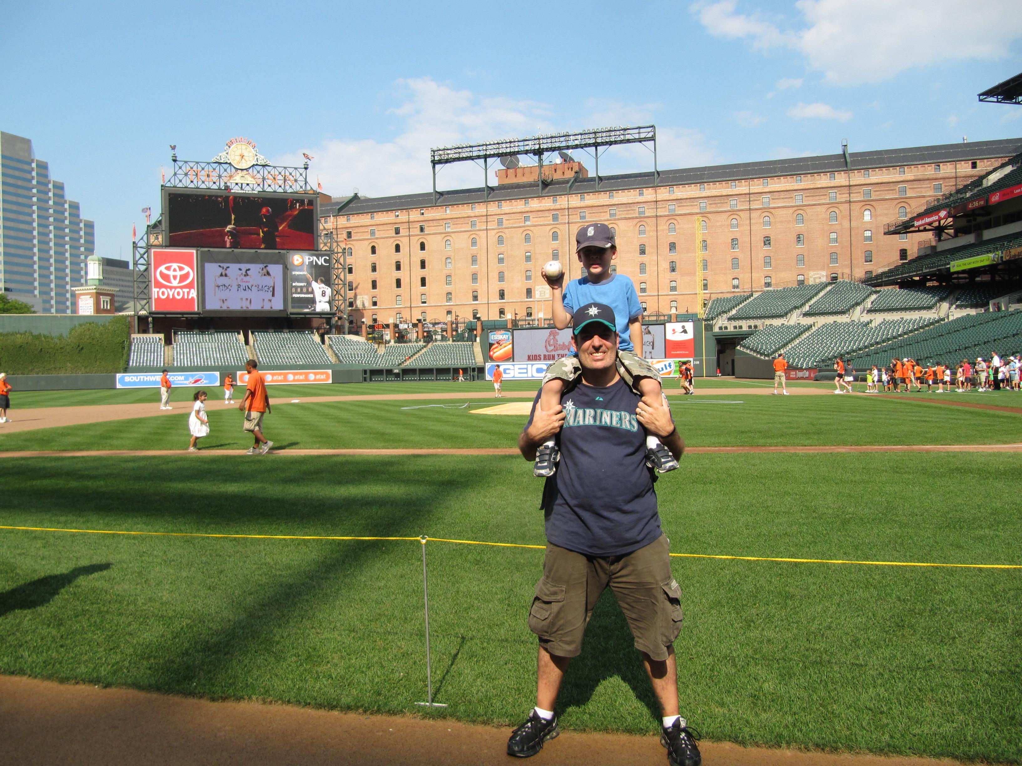 Cook & Sons' Baseball AdventuresTagged: Paul KonerkoCamden Yards: Infield, Outfield & AllAround