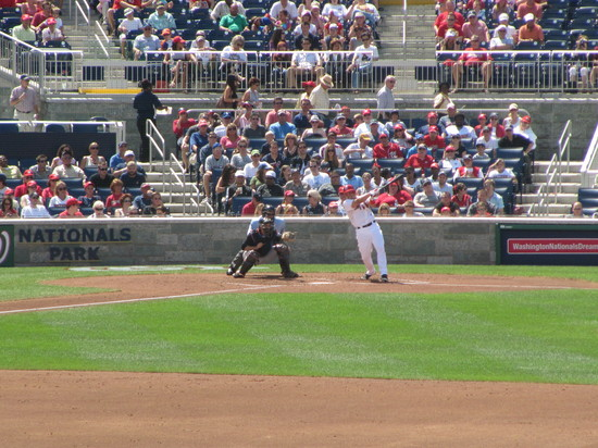 10 - Ivan Rodriguez  Nats 2nd out in 2nd inning.JPG