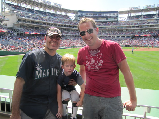 14 - 3 dudes at Nats Park.JPG