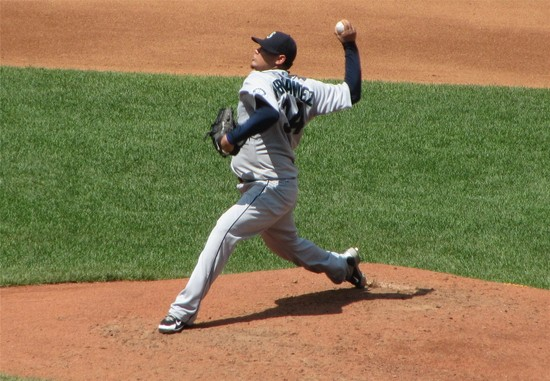 15 - Felix induces Marson to Groundout 1-3.JPG