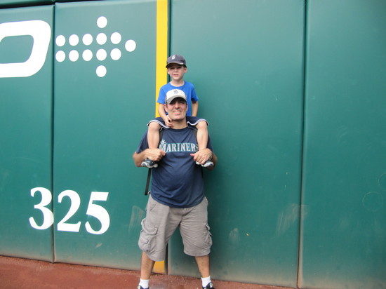 33 - first foul pole reunion.JPG
