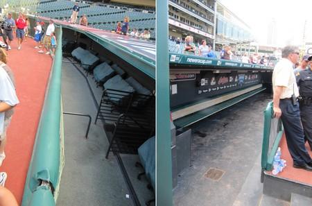 34 - dugout seating dugout.JPG