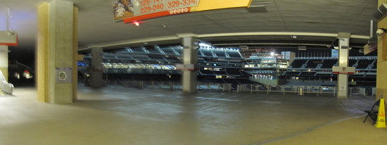 12 - Target Field from outside Gate 29 night offseason panorama.jpg
