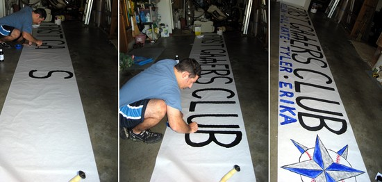 2 - painting first gamers club sign.JPG