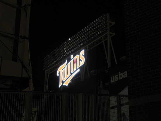 target field twins. Target Field (From the Outside