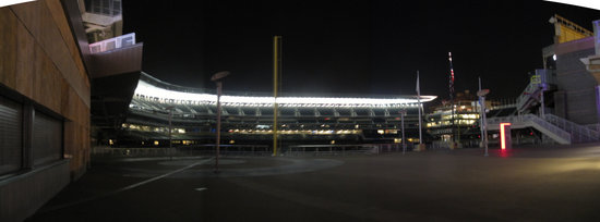 7 - Target Field from outside Gate 34 night panorama 2.jpg