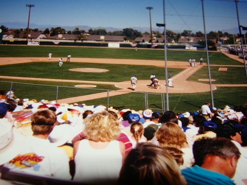 26d - TJC the batboy Buhner the batter.JPG