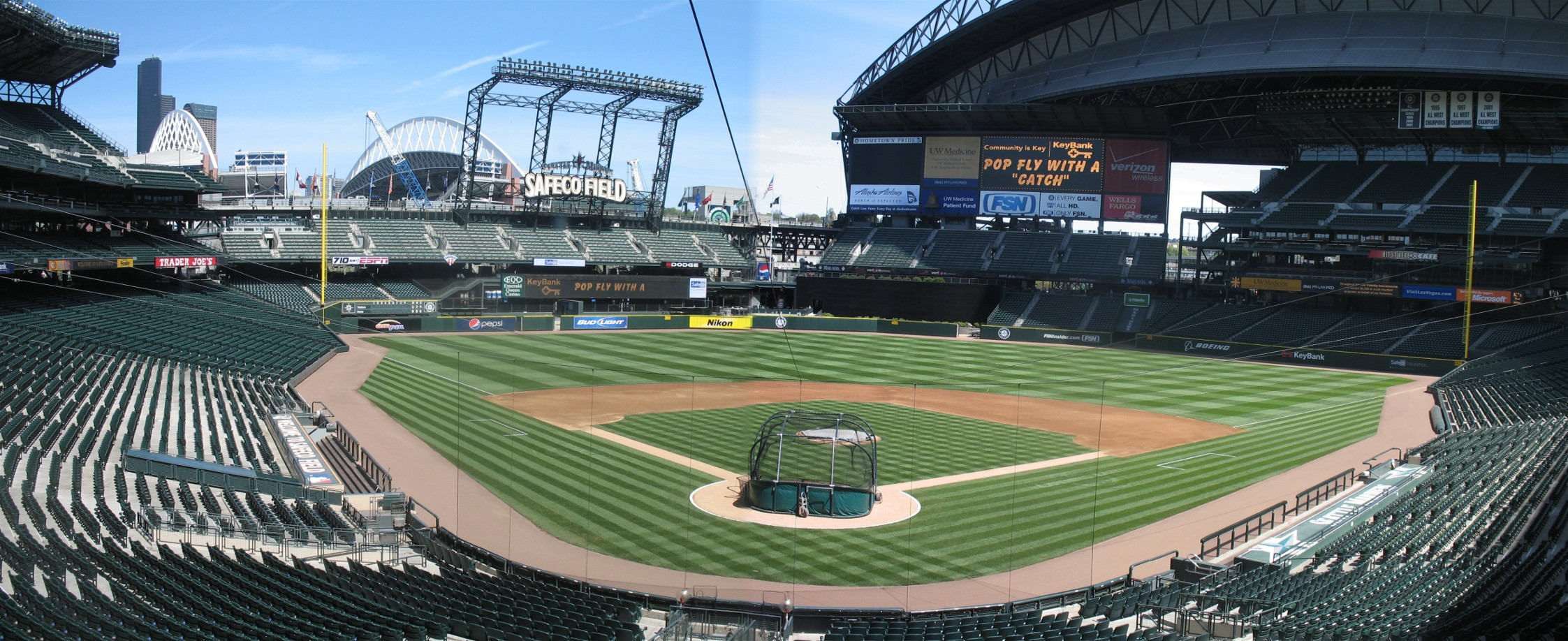 Safeco Field Panoramas | Cook & Sons' Baseball Adventures