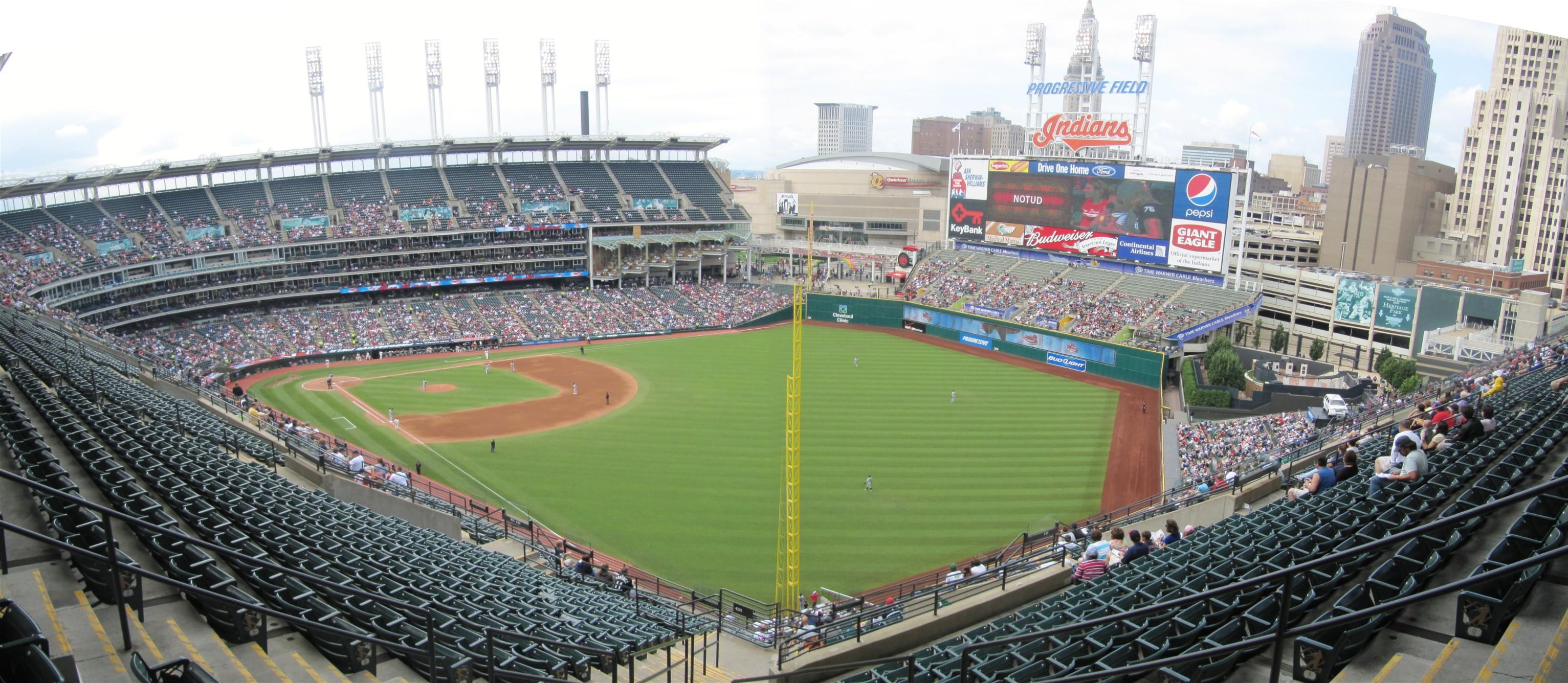 Progressive Field Panoramas Cook Amp Sons Baseball Adventures