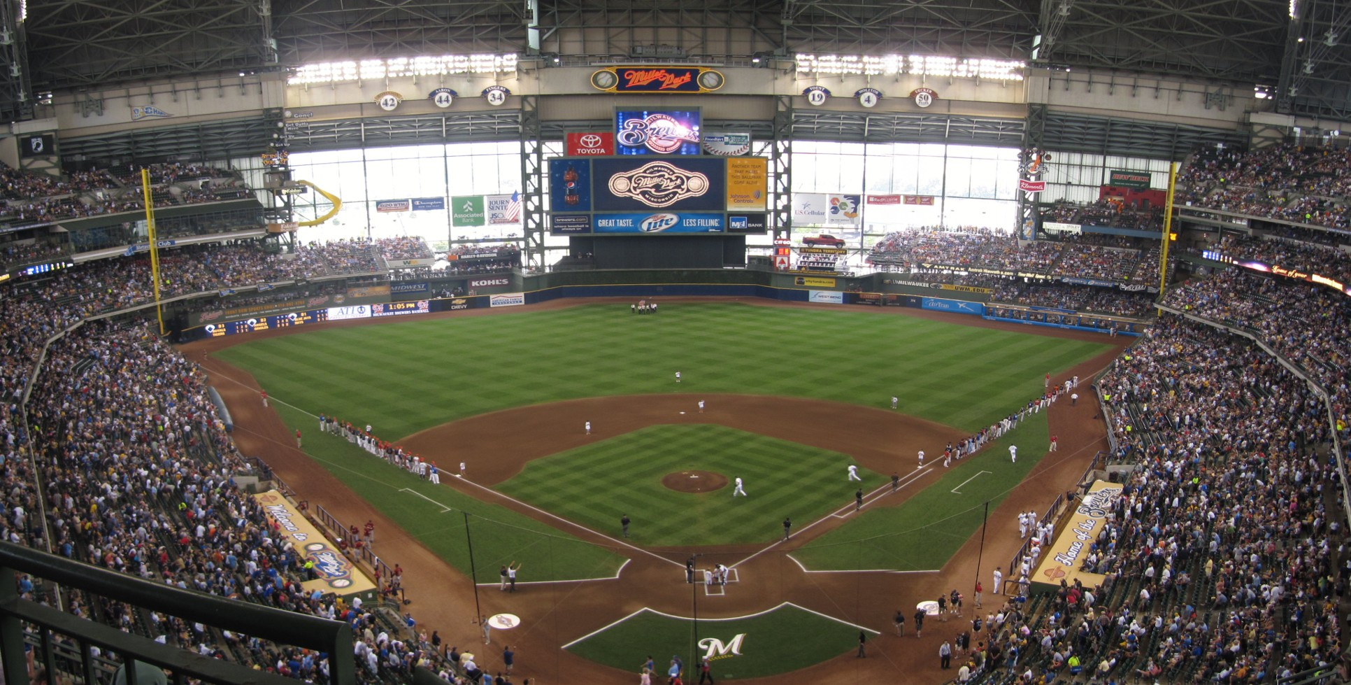 Miller Park Panoramas « Cook & Sons' Baseball Adventures
