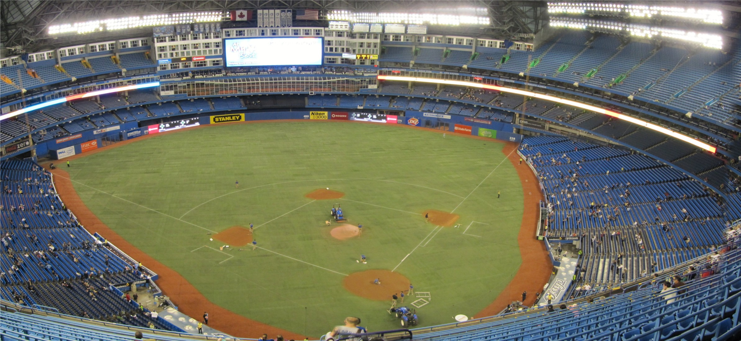 Rogers Centre Panoramas « Cook & Sons' Baseball Adventures