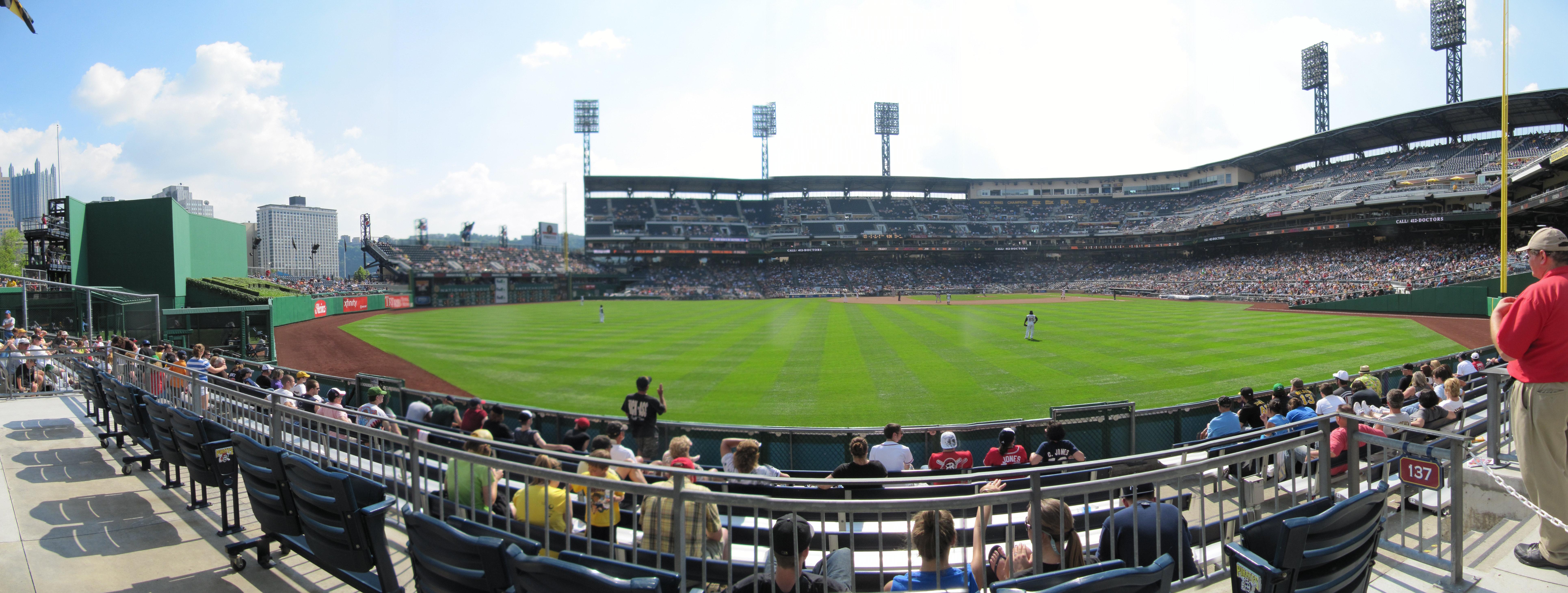 PNC Park Panoramas | Cook & Sons' Baseball Adventures