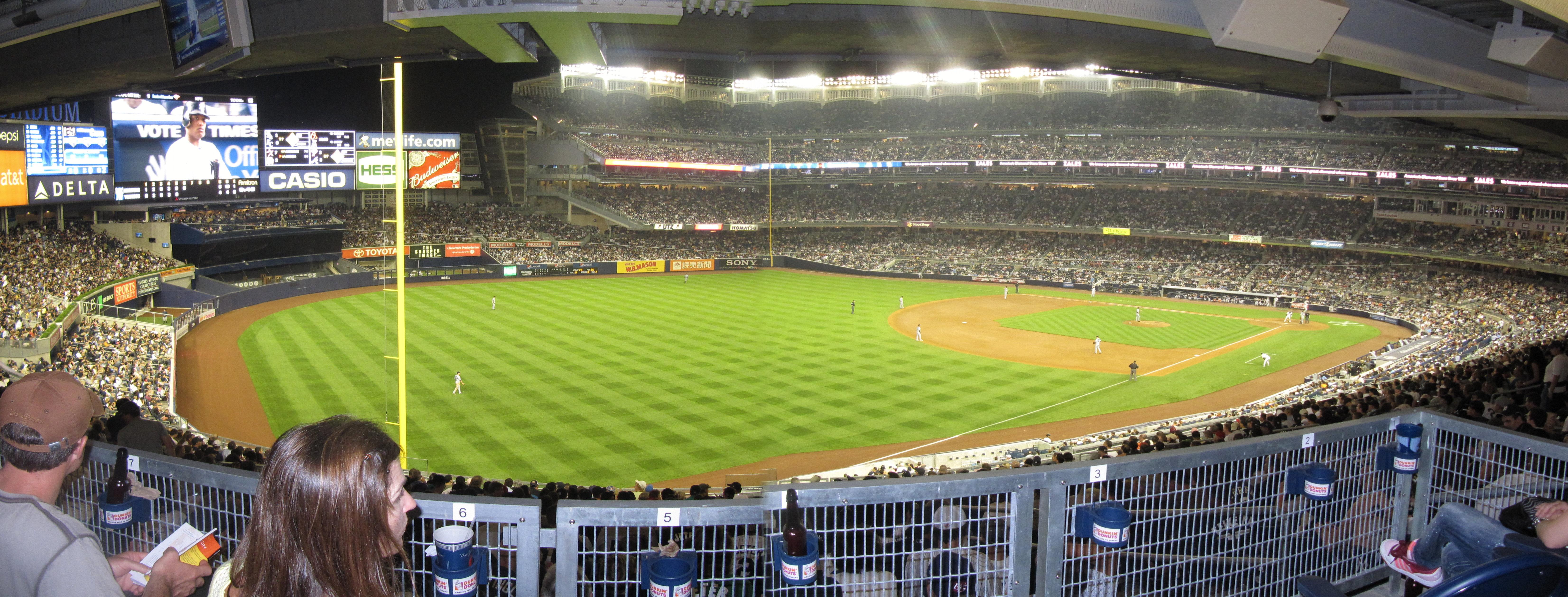 Yankee Stadium (2009 & 1923) Panoramas | Cook & Sons ...