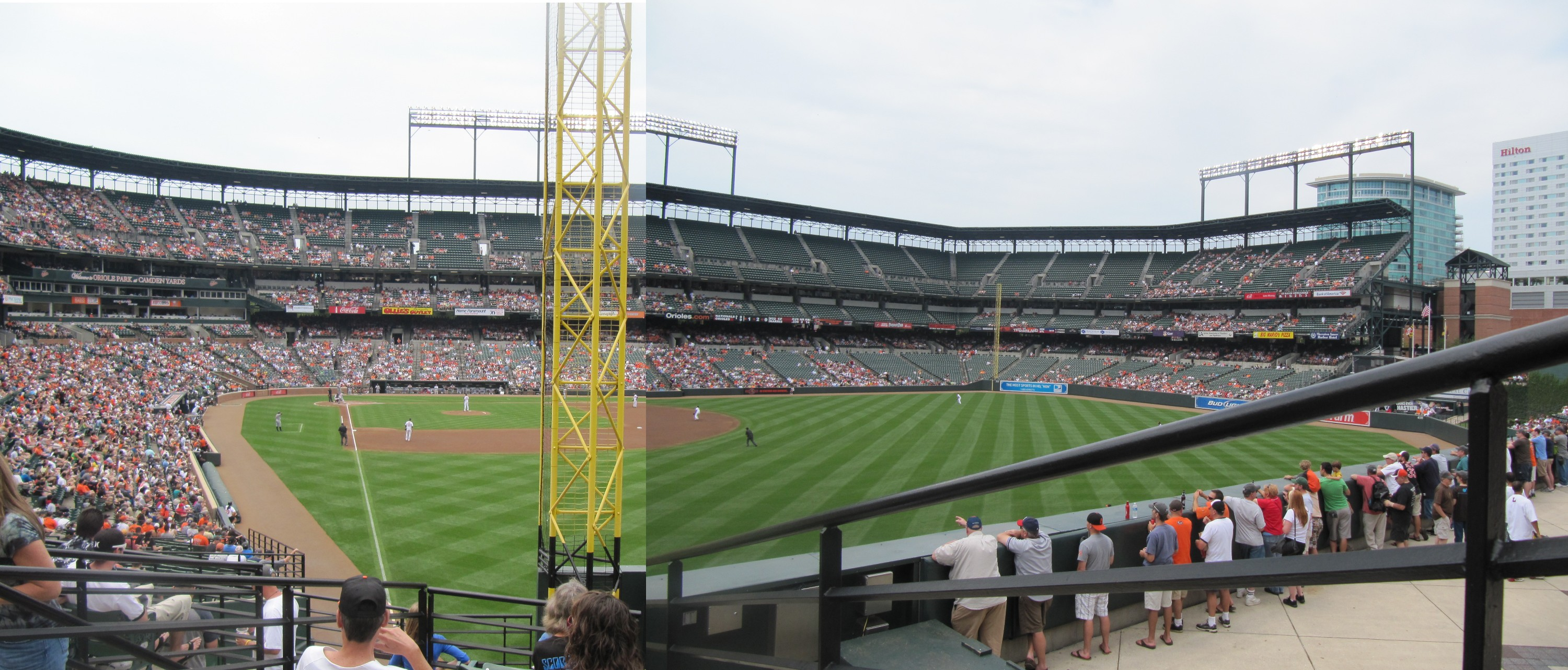Oriole Park At Camden Yards Panoramas Cook Amp Sons Baseball Adventures