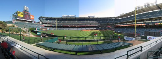 7a - angel stadium section 258 row 2 panorama.jpg