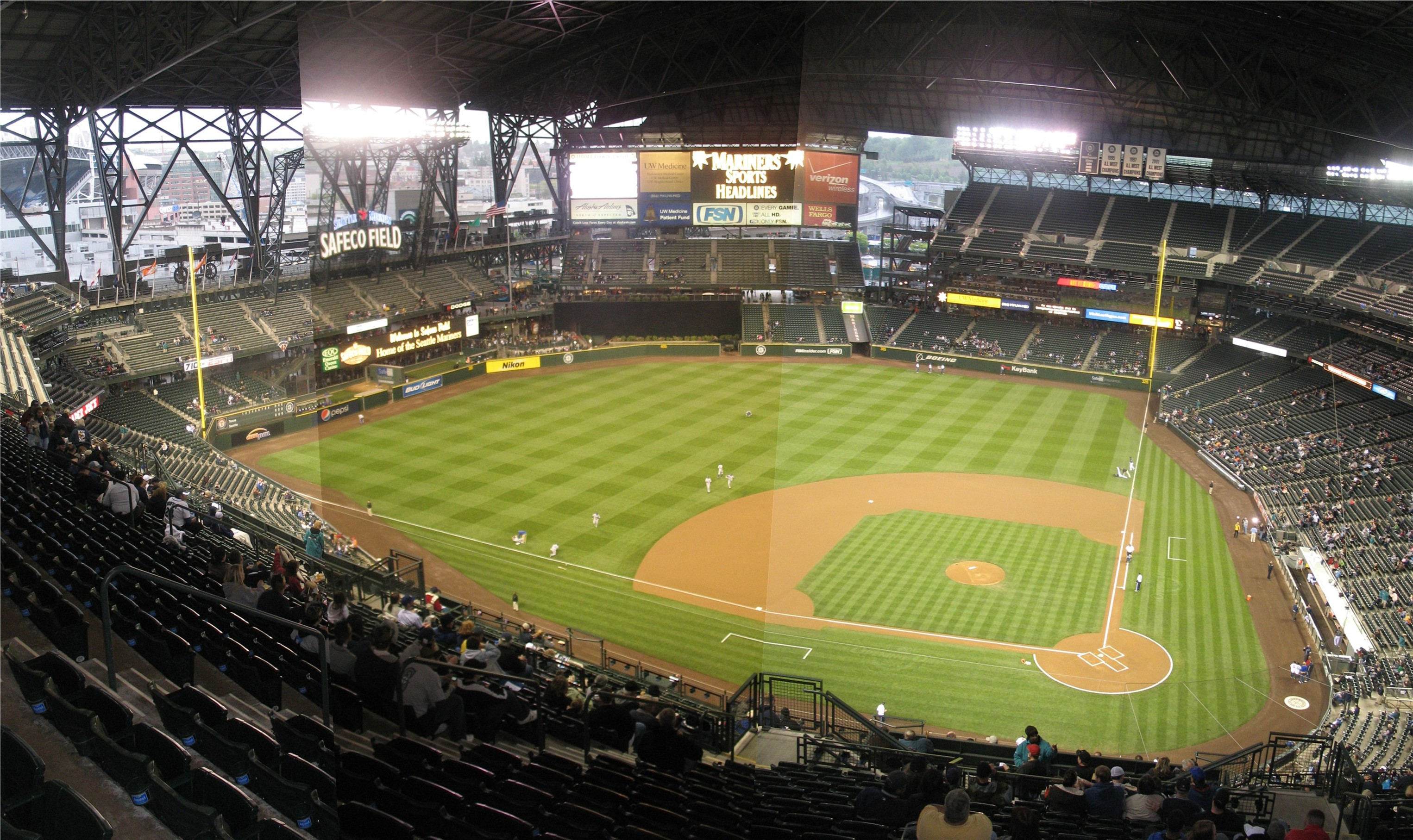 Safeco Field Panoramas 171 Cook Amp Sons Baseball Adventures