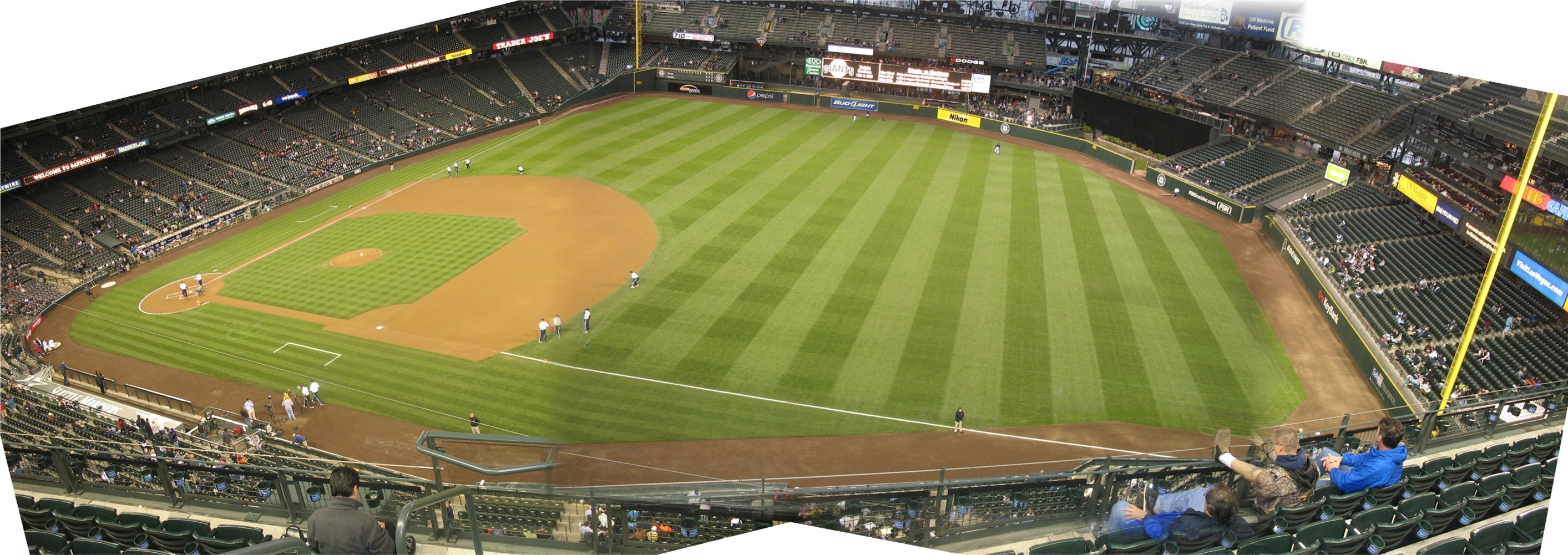 Safeco Field Panoramas Cook Amp Sons Baseball Adventures