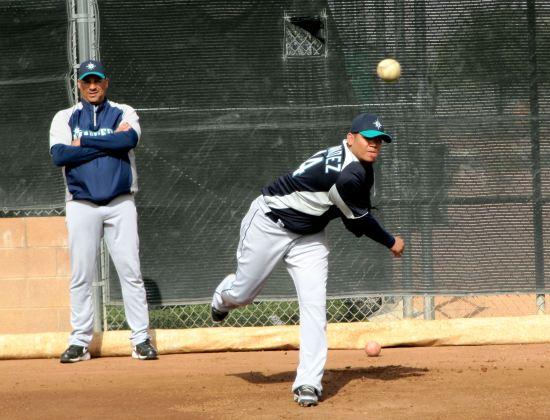 11 - Felix Hernandez bullpen.JPG