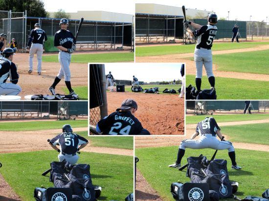 18 - Ichiro stretch pre-batting.JPG