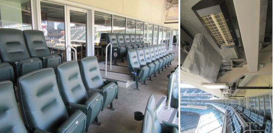 21 - Target Field suite seating and heaters.JPG