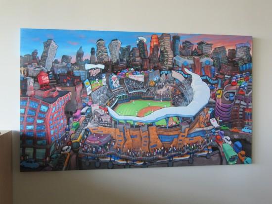 22 - Target Field funky painting.JPG
